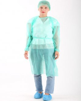 ISOLATION-GOWN-GREEN